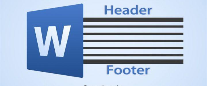 آموزش سریع وارد کردن Header با عنوان و شماره متفاوت برای هر صفحه در ورد